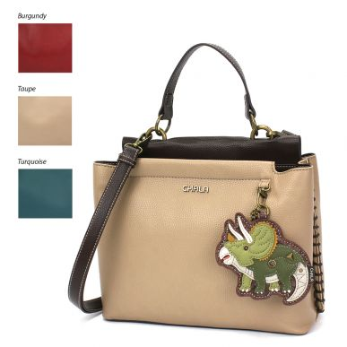 Charming Satchel - Triceratops