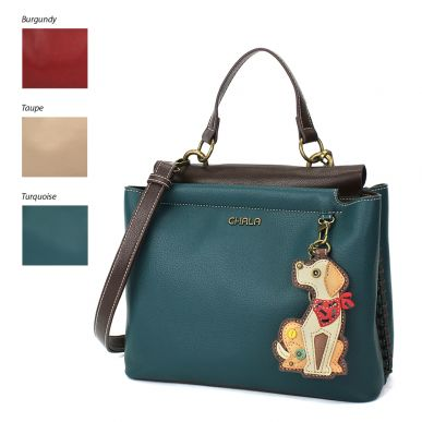 Charming Satchel - Yellow Lab