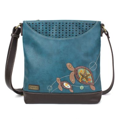 Sweet Messenger - Two Turtles - Turquoise