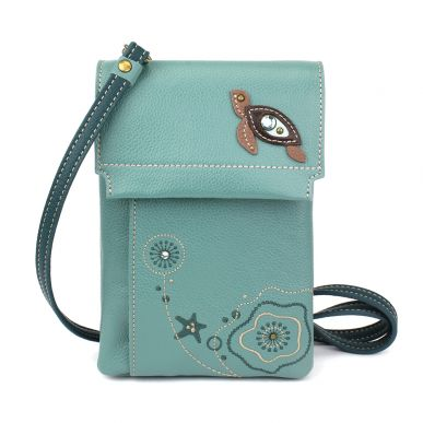 Criss Cellphone Xbody - RFID - Turtle - Teal