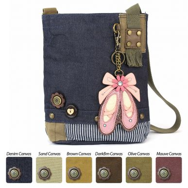 Ballerina - Patch Crossbody Bag