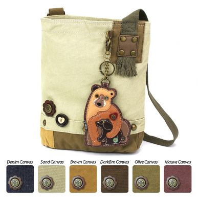 Two Bears - Patch Crossbody Bag