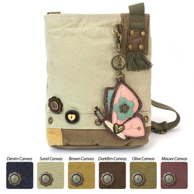 Butterfly - Patch Crossbody Bag