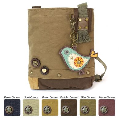 Bird-II - Patch Crossbody Bag