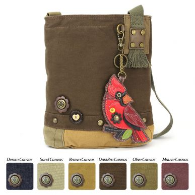 Cardinal - Patch Crossbody Bag