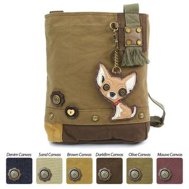 Chihuahua - Patch Crossbody Bag