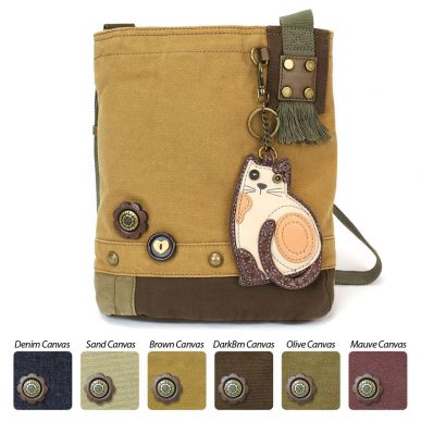 LaZzy Cat - Patch Crossbody Bag