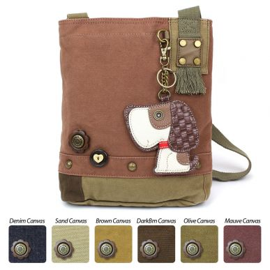 Toffy Dog - Patch Crossbody Bag