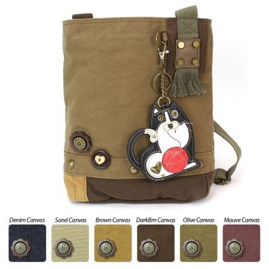 Fat Cat - Patch Crossbody Bag