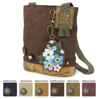 Patch Crossbody - Forget Me Not
