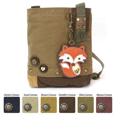 Chala Fox - Patch Crossbody Bag