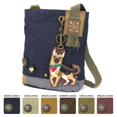 German Shepherd - Patch Crossbody Bag