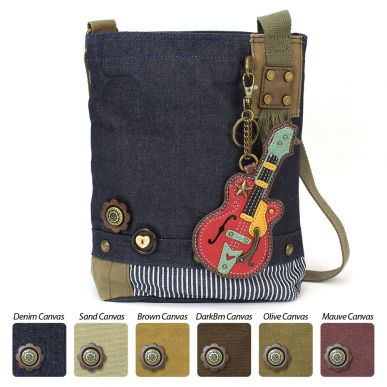 Guitar - Patch Crossbody Bag