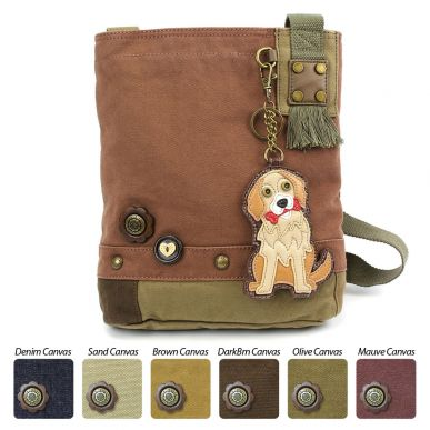 Golden Retriever - Patch Crossbody Bag