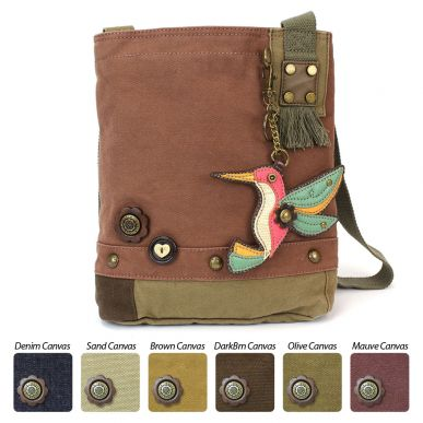 Hummingbird - Patch Crossbody Bag
