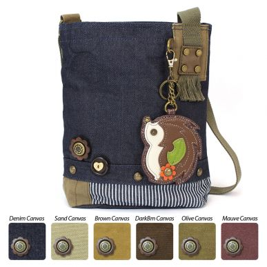 Hedgehog - Patch Crossbody Bag