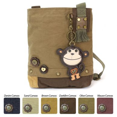 Smartie Monkey - Patch Crossbody Bag