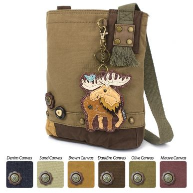 Patch Crossbody - Moose