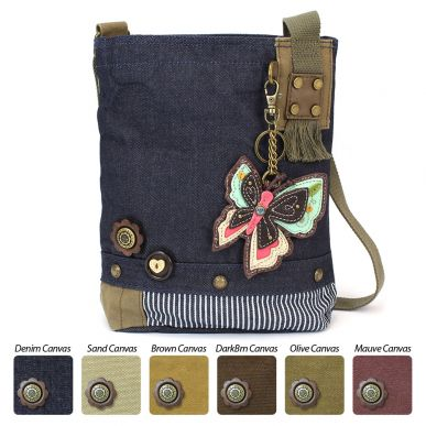 New Butterfly - Patch Crossbody Bag