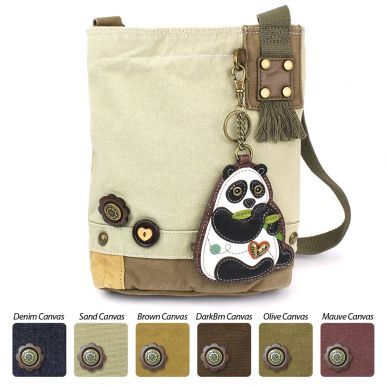 New Panda - Patch Crossbody Bag