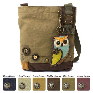 Owl A - Patch Crossbody Bag