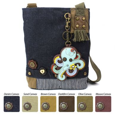 Octopus - Patch Crossbody Bag