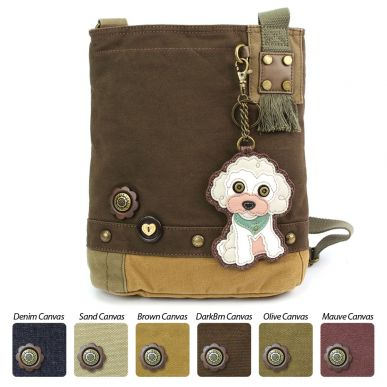 Poodle - Patch Crossbody Bag