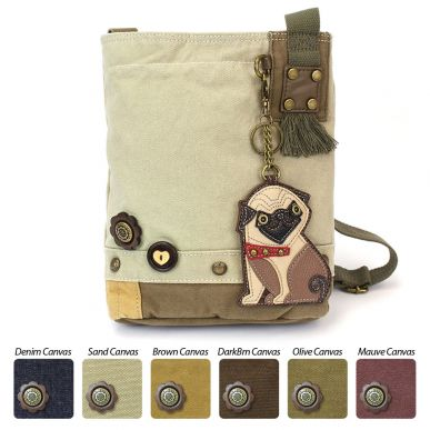 Pug - Patch Crossbody Bag