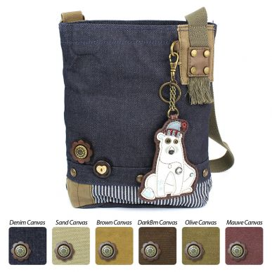 Polar Bear - Patch Crossbody Bag