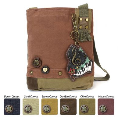 Piano - Patch Crossbody Bag