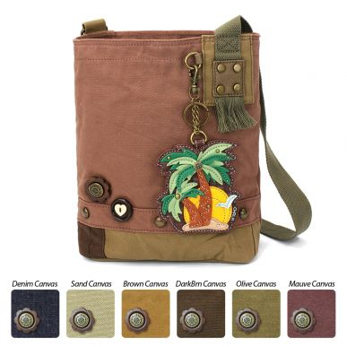 Patch Crossbody - Palm Tree