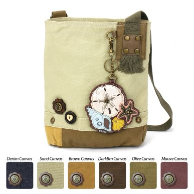 Patch Crossbody - Sand Dollar