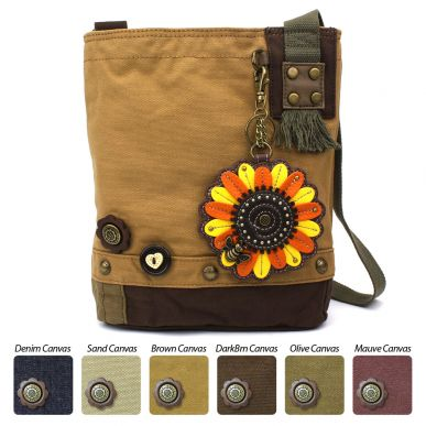 Sunflower - Patch Crossbody Bag