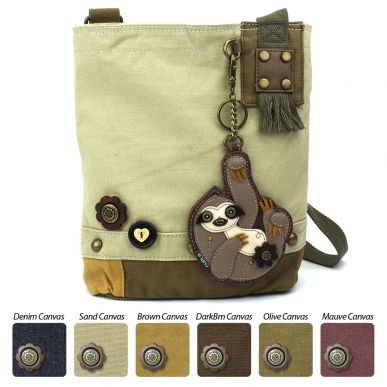 Sloth - Patch Crossbody Bag