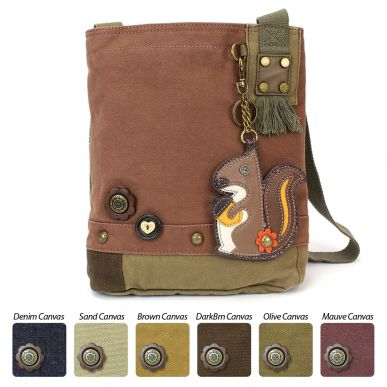 Squirrel - Patch Crossbody Bag