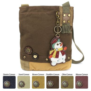 Snowman - Patch Crossbody Bag