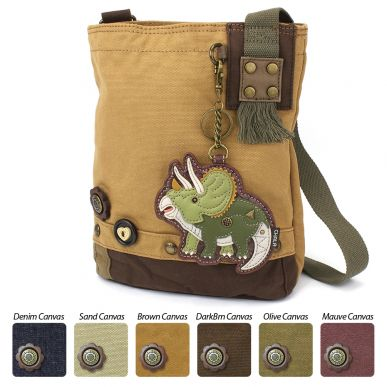 Patch Crossbody - Triceratops