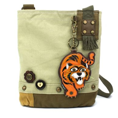 Tiger - Patch Crossbody Bag