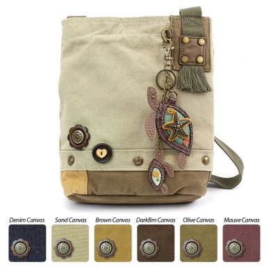 Two Turtles - Patch Crossbody Bag