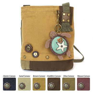 Sea Turtle - Patch Crossbody Bag