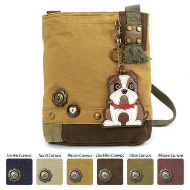 Bulldog - Patch Crossbody Bag