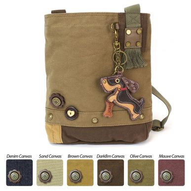 Wiener Dog - Patch Crossbody Bag