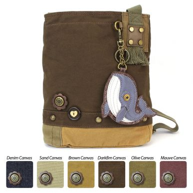 Whale - Patch Crossbody Bag