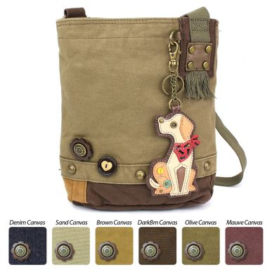 Yellow Lab - Patch Crossbody Bag