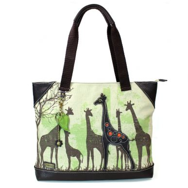 Giraffe - Safari Canvas Tote