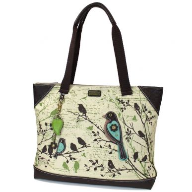 Bird - Safari Canvas Tote