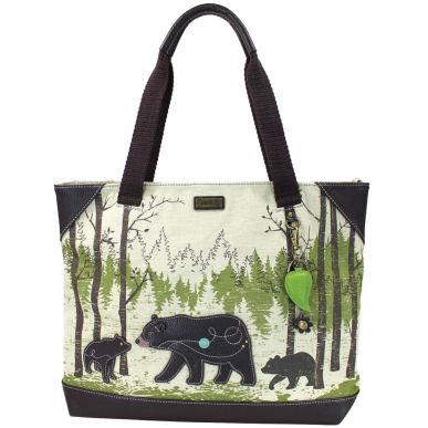Bear - Safari Canvas Tote