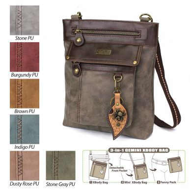 Spider - Gemini Crossbody Bag (Faux Leather)