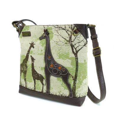 Giraffe - Safari Canvas Crossbody