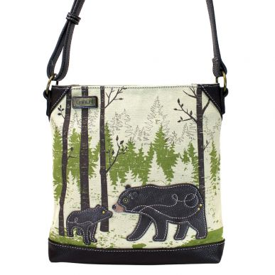Bear - Safari Canvas Crossbody